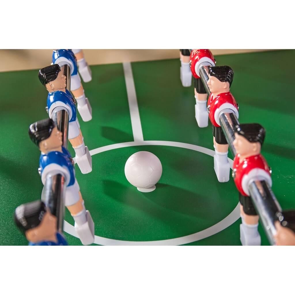 Настольный футбол (кикер) «Maccabi» (140x75x89, светлый, складной)