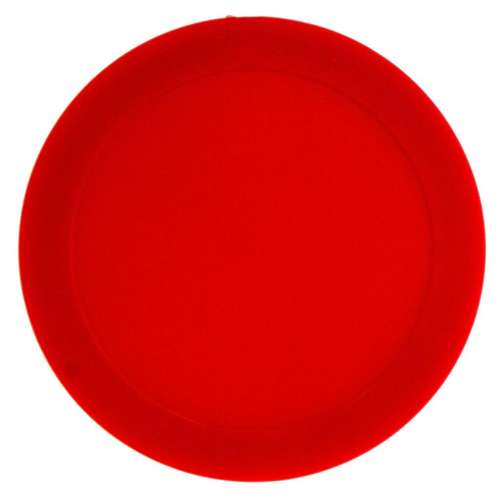 Шайба для аэрохоккея «Atomic Lumen-X Laser» (красная) D63 mm
