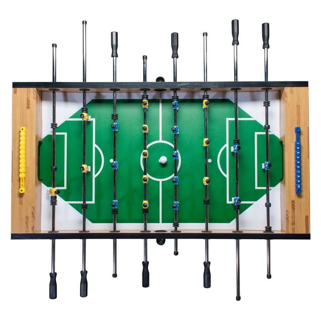 Настольный футбол «Champion Pro» (140х72х86, светлый)