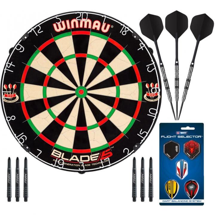 Комплект для игры в Дартс Winmau Champion (профессиональный уровень)