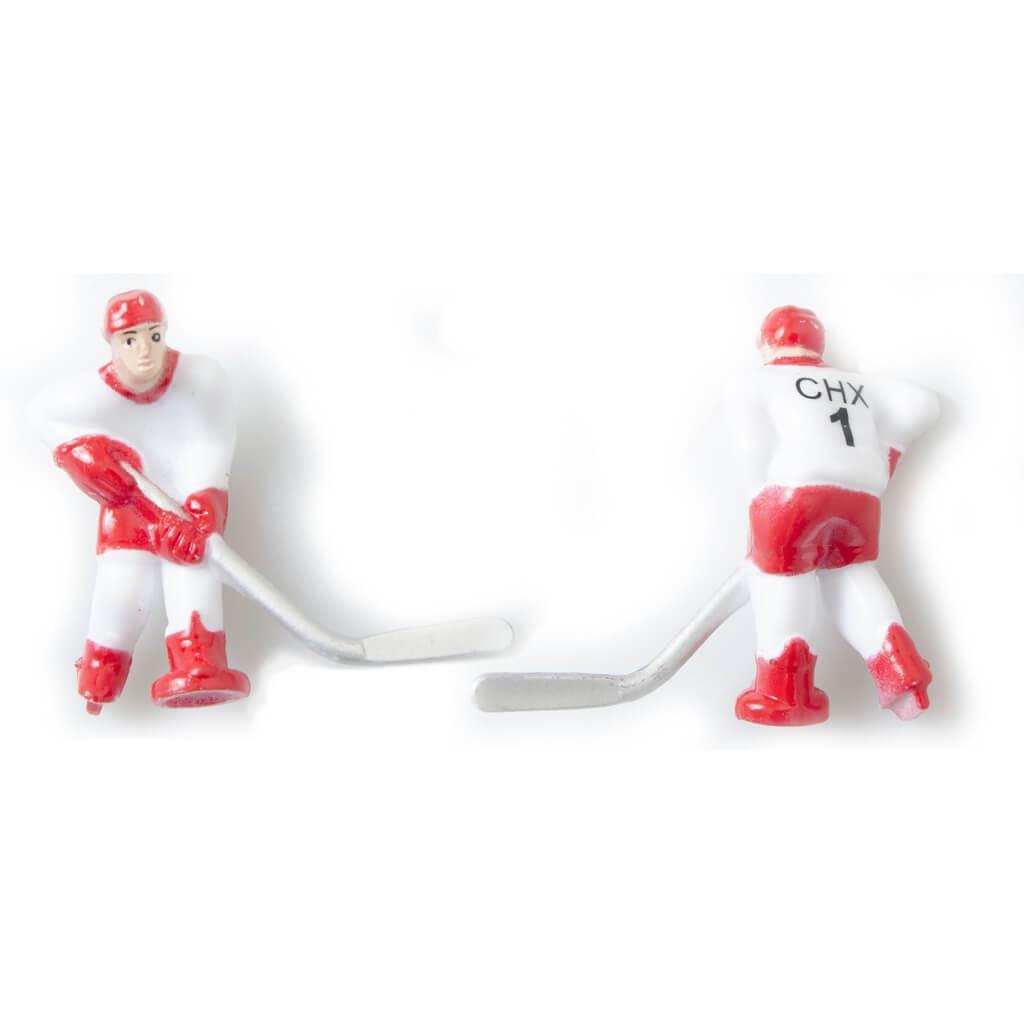 Команда игроков для хоккея «Юниор», «Метеор» (красная форма)