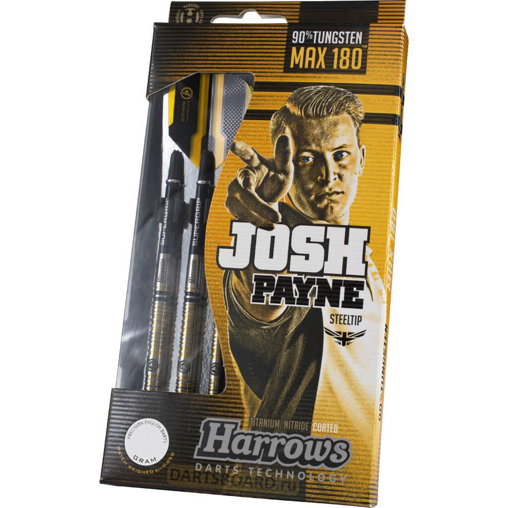 Дротики Harrows Josh Payne 90% steeltip (профессиональный уровень)