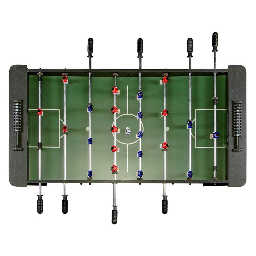 Настольный футбол (кикер) «Dybior Turin» (120x61x84, синий)