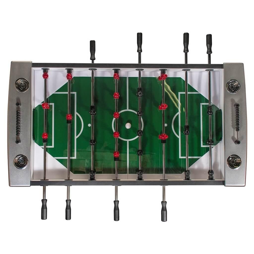 Настольный футбол (кикер) «Inter» (148.5 х 78 х 90 см, черный)