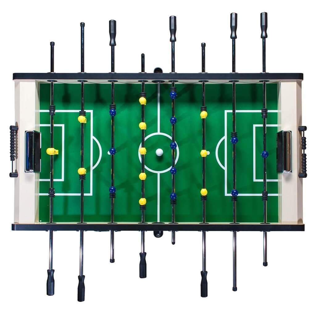 Настольный футбол (кикер) «Valencia» (140х74х86 см, светлый)
