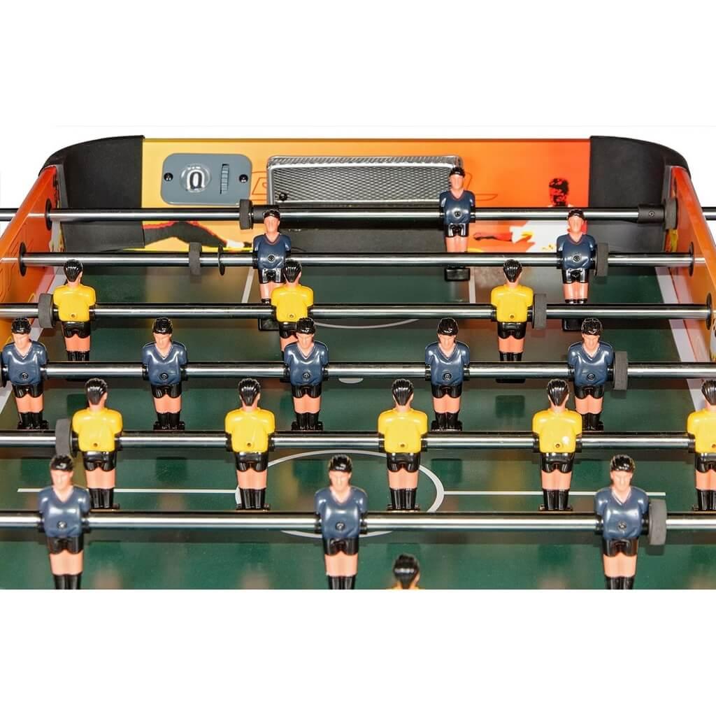 Настольный футбол (кикер) «Amsterdam» (120х61х84, оранжево-черный)