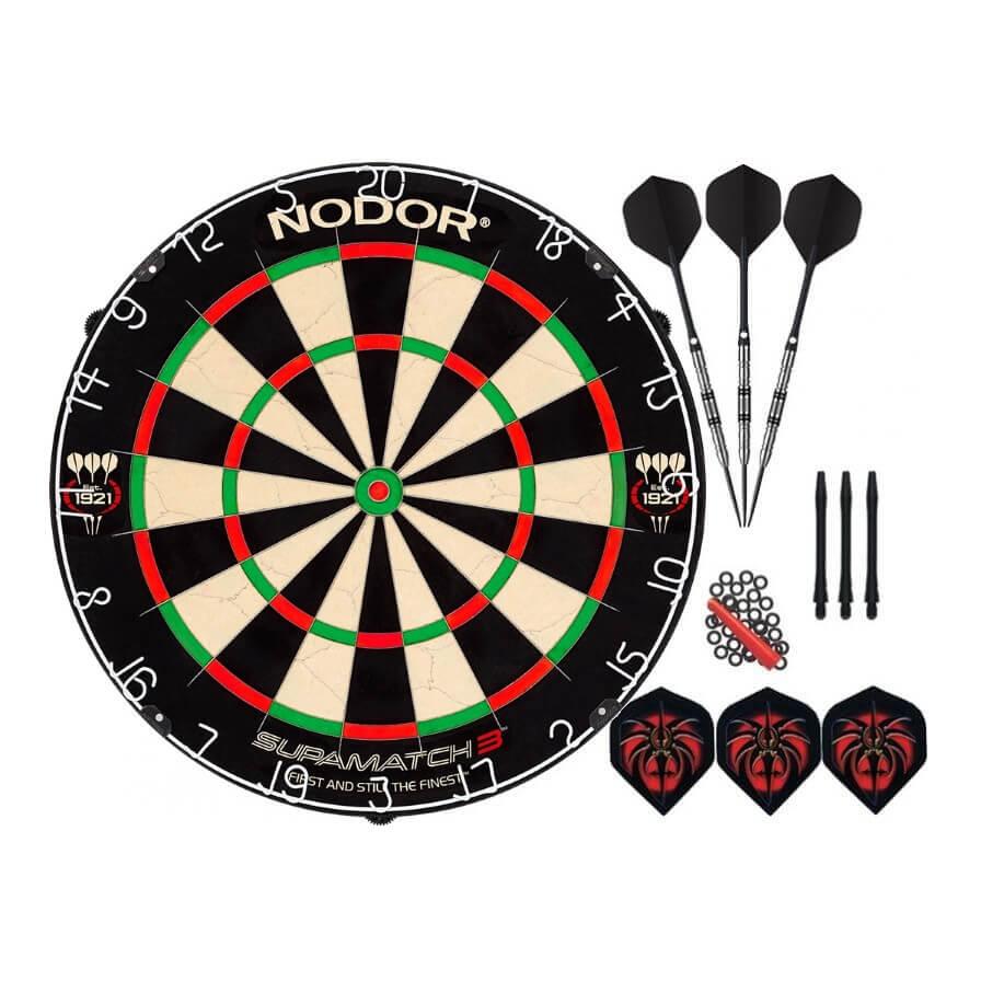 Комплект для игры в Дартс Nodor Professional (профессиональный уровень)