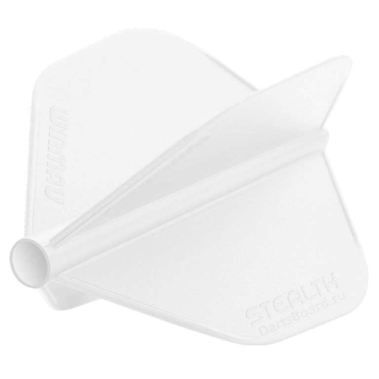 Оперения Winmau серии Stealth (Classic) белого цвета