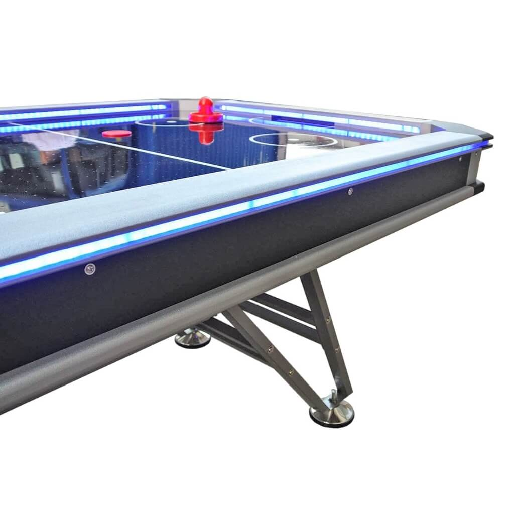 Аэрохоккей «Black Ice» 7 ф (213 х 111 х 80 см, черный)