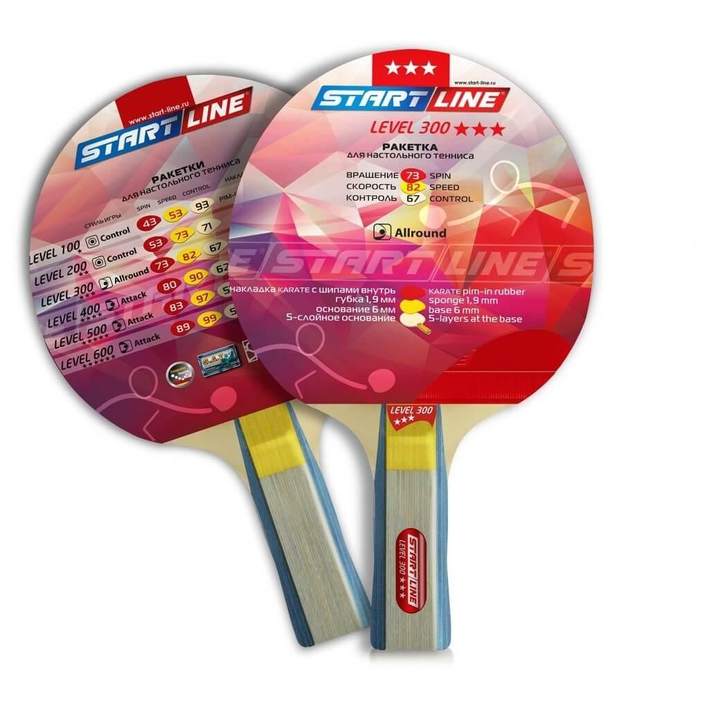 Теннисная ракетка Start line Level 300 New (анатомическая)