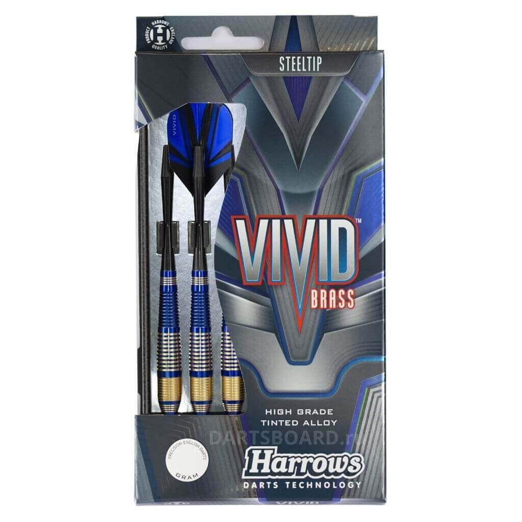 Дротики Harrows Vivid blue