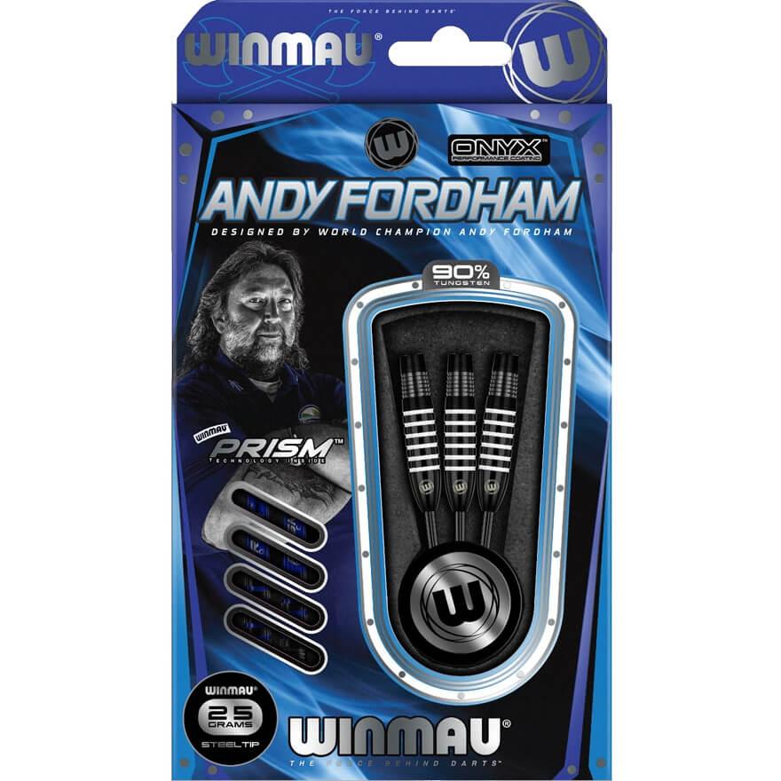 Дротики Winmau Andy Fordham steeltip 25gr (профессиональный уровень)