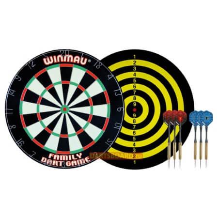 Комплект для игры в Дартс Winmau Family Dart Game